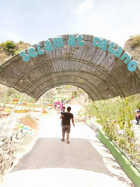 Wisata Terbaru Di Tuban, Tebing Pelangi Wisata Buatan Yang Indah