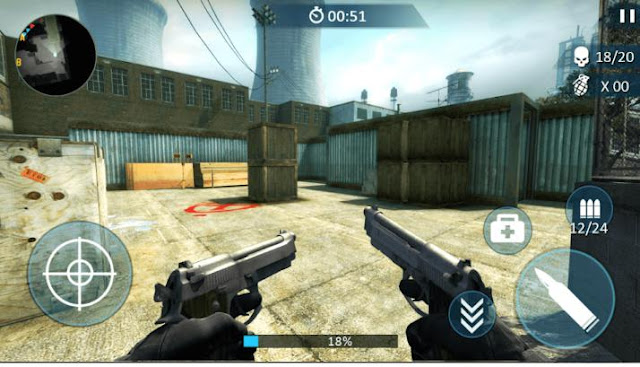 Game Fps Android Ringan Counter Fort Invader APK