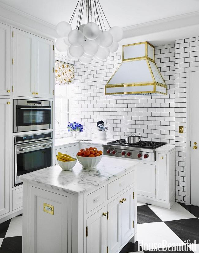 Manhattan Kitchen Design Ideas ~ Mix and chic inside a sophisticated manhattan