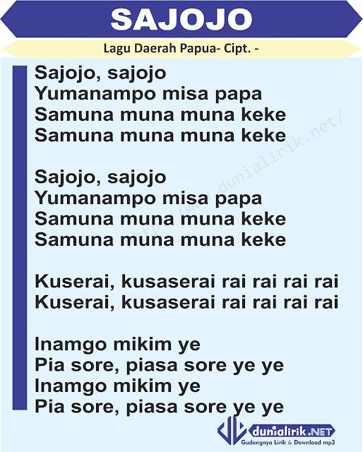 Download Lagu Deen Assalam: Lirik Lagu Sajojo Dan Download Mp3