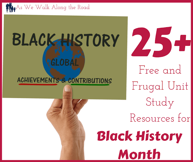 Black History Month unit study resources