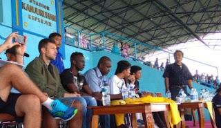 Makan Konate Resmi Gabung Arema FC, Dikenalkan Saat Laga Arema vs PS Tira