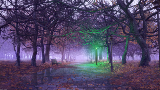 autumn by arsenixc d6v3vnf - [Conto] Sonho após a morte