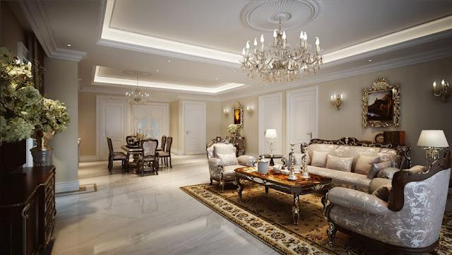 Thiết kế nội thất quý phái