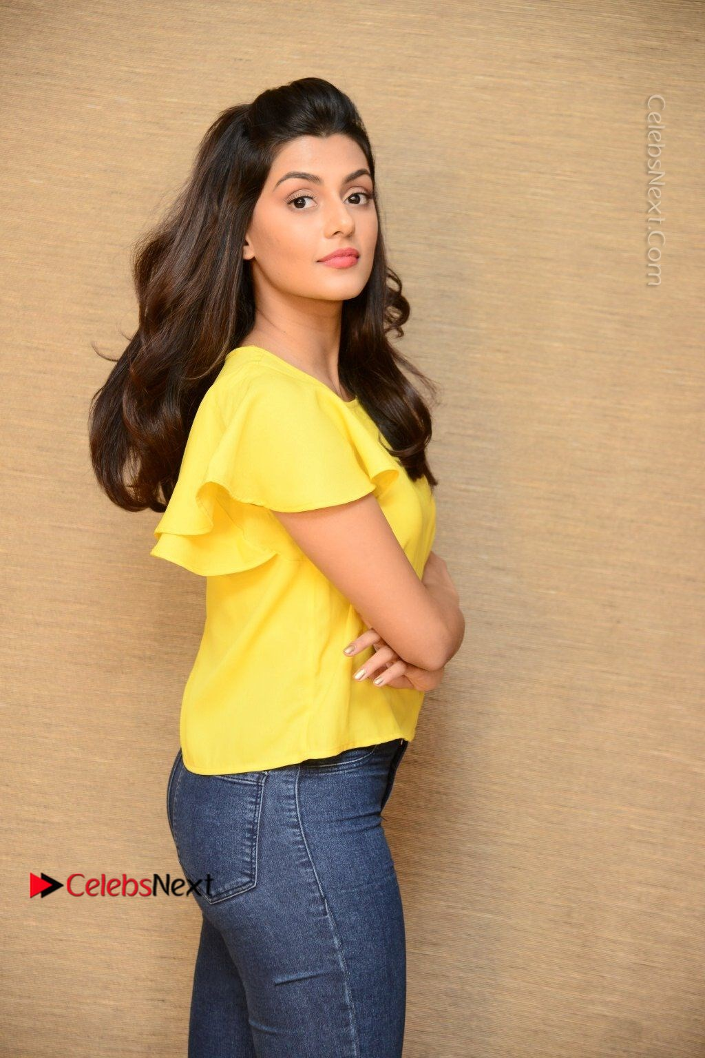 Actress Anisha Ambrose Latest Stills In Denim Jeans At Fashion Designer So Ladies Tailor Press Meet Com 0004 Anisha Ambrose Latest Stills In Denim Jeans At Fashion Designer S O Ladies Tailor