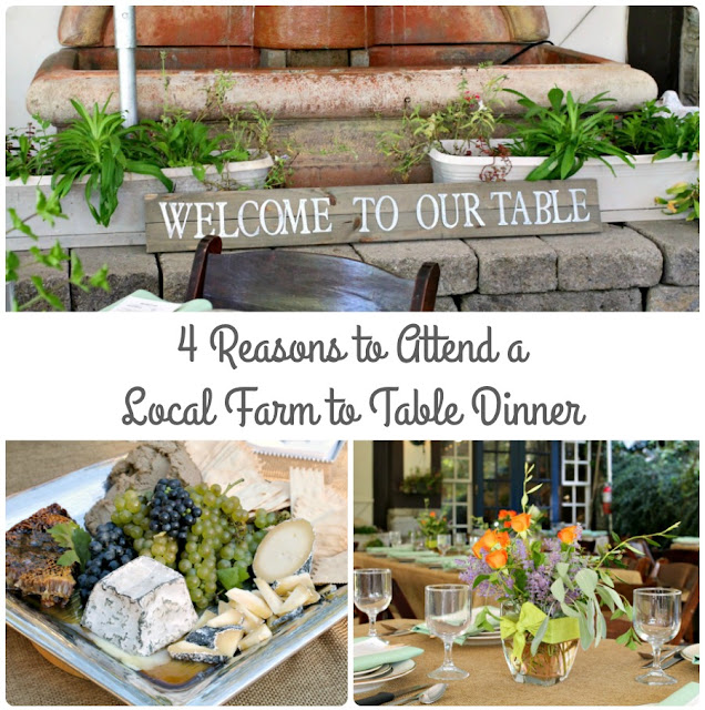 If you have never attended a farm to table dinner before or have been on the fence about whether or not you should attend one, then be sure to check out these 4 Reasons to Attend a Local Farm to Table Dinner.