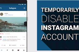 Temporarily Deactivate Instagram