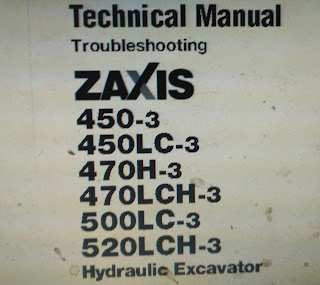 Technical Manual Troubleshooting Zaxis ZX450-3 ZX450LC-3 ZX470H-3