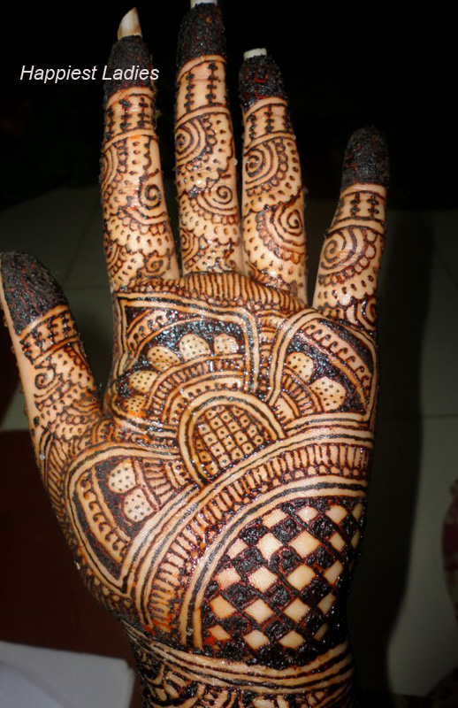 Easy and Simple Mehendi Designs