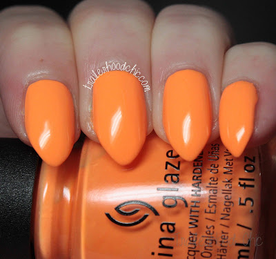china glaze lite brites collection swatch none of your risky business