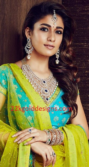 Nayanthara in GRT Diamond Jewelry