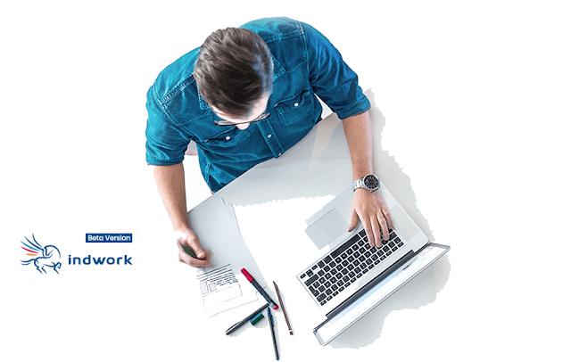 شرح منصة indwork افضل مواقع الفريلانسر للعمل الحر من المنزل