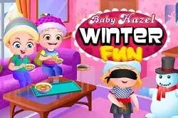 Bebek Elâ Kış Eğlencesi - Baby Hazel Winter Fun