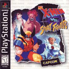 X-Men Vs. Street Fighter - PS1 - ISOs Download