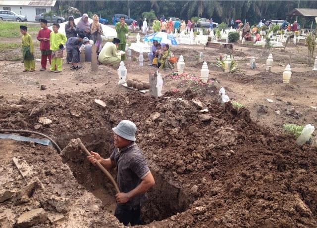 Paman Penggali Kubur Melihat Azab Yang Mengerikan