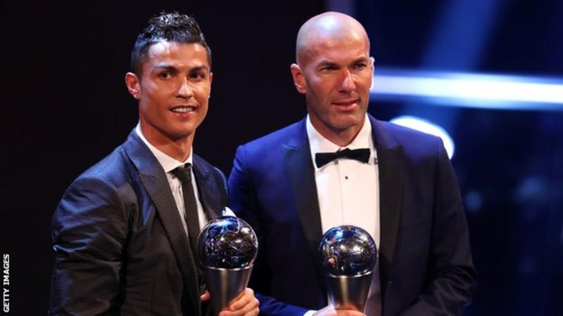 Ronaldo beats Messi to win Fifa best male player award