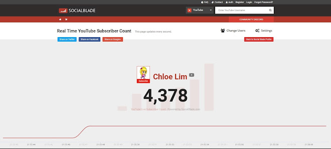 4378 subscribers - Real Time YouTube Subscriber Count