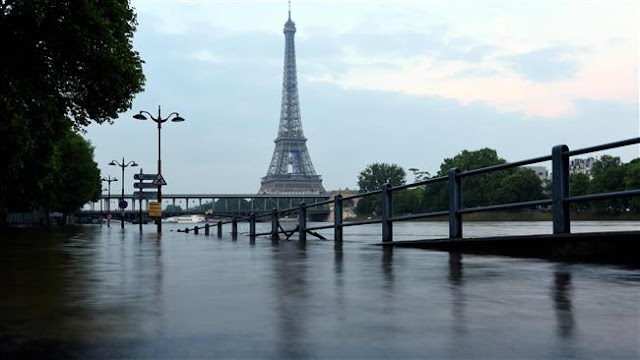 Climate change 'alters Europe river floods cycles'