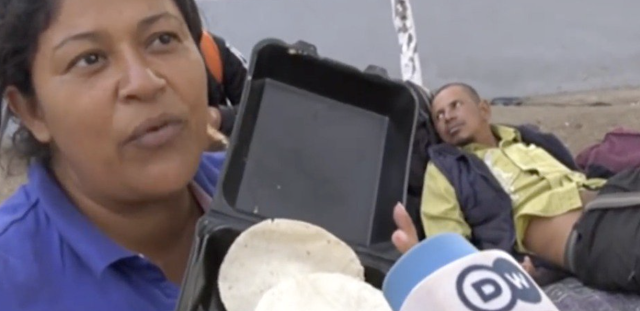 Ungrateful Honduran Migrant Complains About Free Food She's Been Given By Mexico, Calls It Pig Food