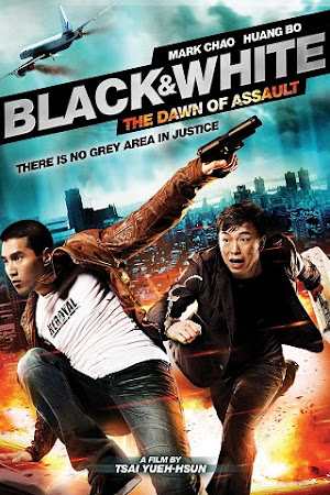 Poster Of Black & White Episode 1: The Dawn of Assault 2012 Full Movie In Hindi Dubbed Download HD 100MB Chinese Movie For Mobiles 3gp Mp4 HEVC Watch Online