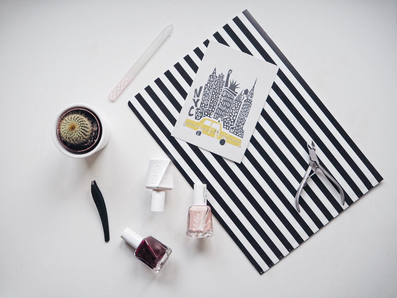 Essie Gel Couture Flat Lay