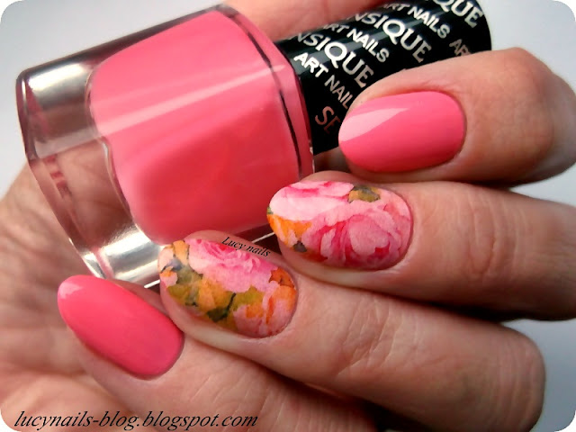 Sensique Art Nails nr 326 Rambutan i naklejki od Edbeauty