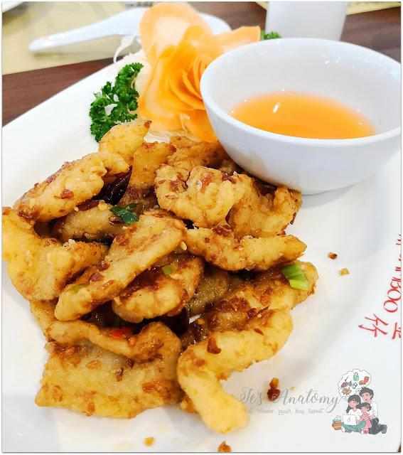 Golden Bamboo Restaurant Circuit Makati Salt and Pepper Squid