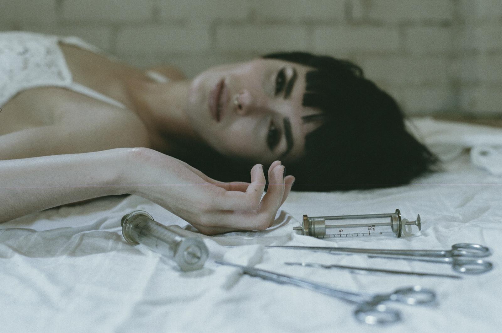 Jillian xenia conceptual 35mm film