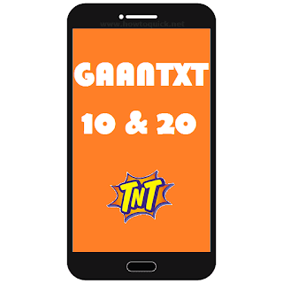 TNT Gaan Text Promo
