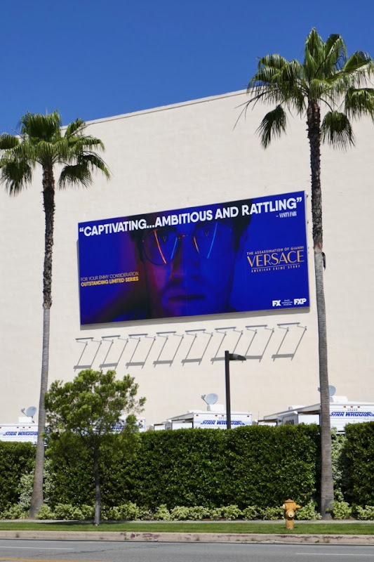 Assassination Versace Emmy FYC billboard