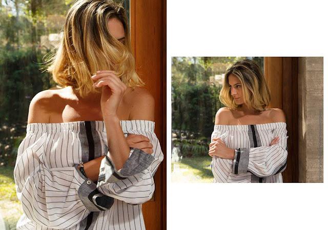 Moda 2017 blusas hombros descubiertos moda verano 2017 mujer.