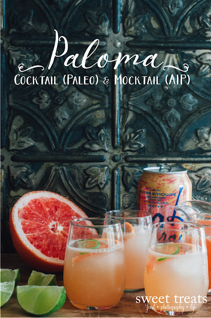 Paloma Cocktail & Mocktail (Paleo & AIP)