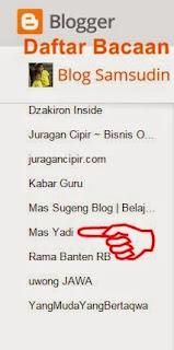 Folow Blogger