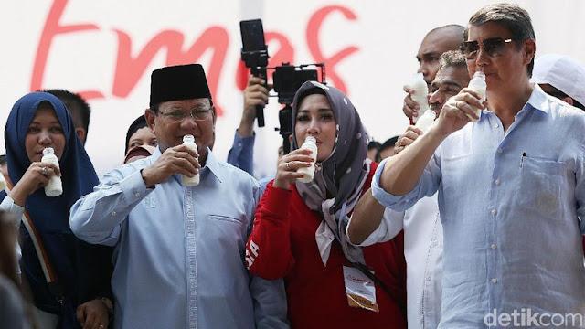 Gerindra: Prabowo 15 Tahun Perbaiki Gizi Buruk Anak Indonesia