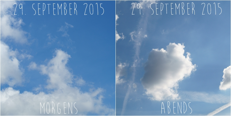 Blog + Fotografie by it's me! - Himmel am 29.09.2015