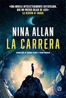 """Portada del libro """"La carrera"""", de Nina Allan"""