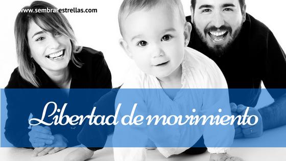 Libertad de movimiento, gateo, estimulacion temprana, desarrollo fisico del bebé,