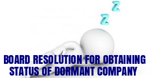 Board-Resolution-Obtaining-Status-Dormant-Company