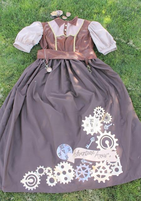 diy steampunk costume women
