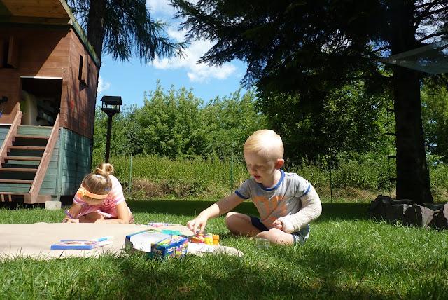 Kolorowy Świat Bambino - jak spędzić z dziećmi kreatywne wakacje ?