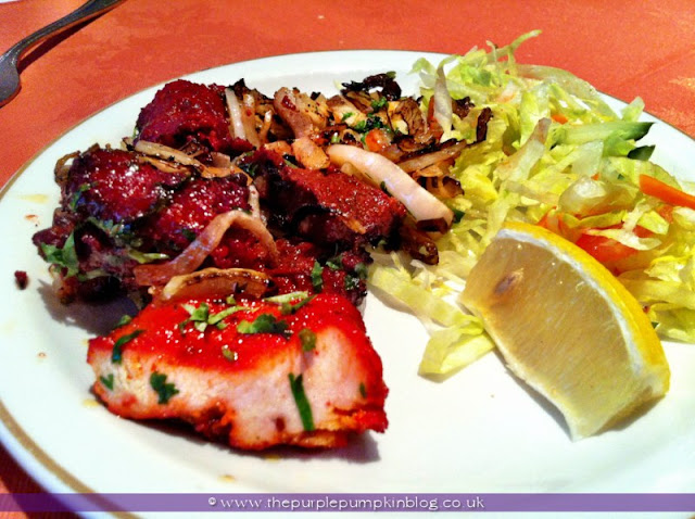 Mix Kebab, Raj of India, Collier Row Review at The Purple Pumpkin Blog