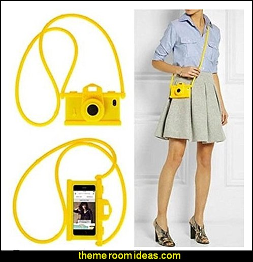 MOSCHINO CAMERA LUXURY FASHION RUBBER PHONE CASE FOR APPLE iPhone
