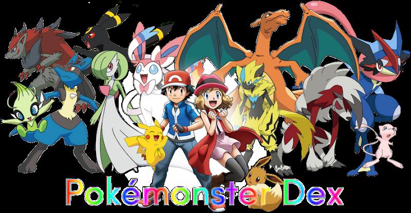 +Pokémonster Dex