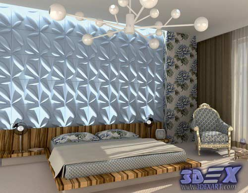 Decorative Wall Panels Modern Art For Bedroom