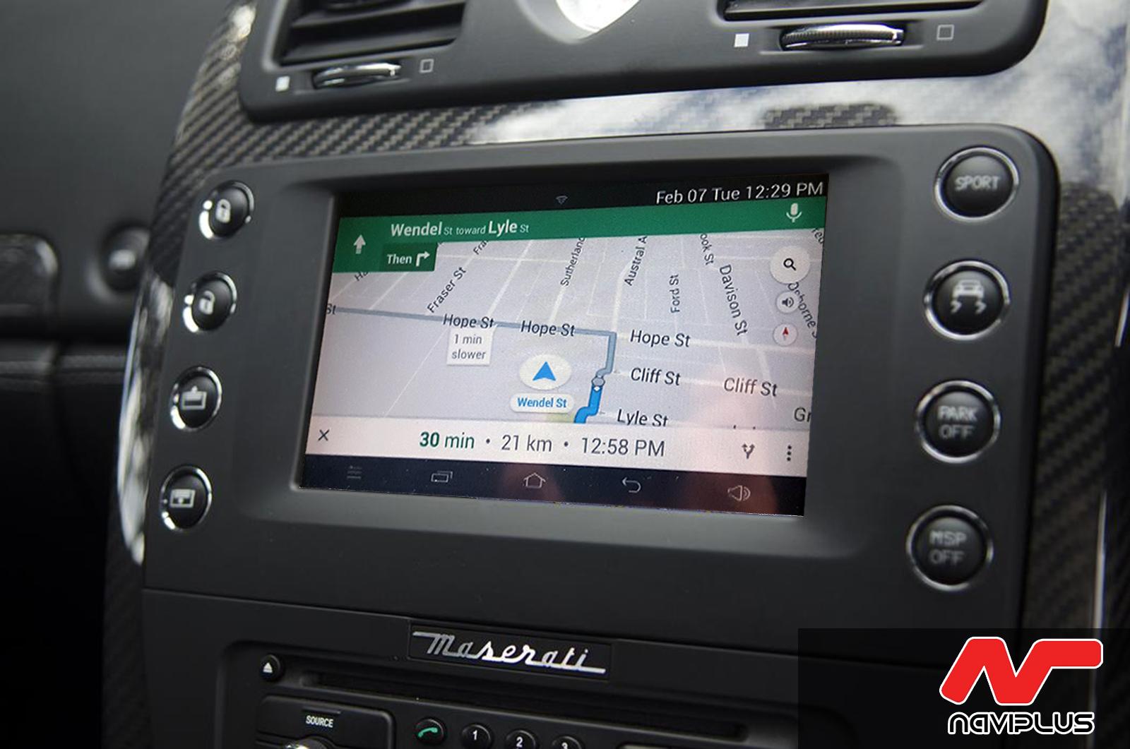 [2008-2012] Maserati Quattroporte 5th Gen- Touch Screen ...