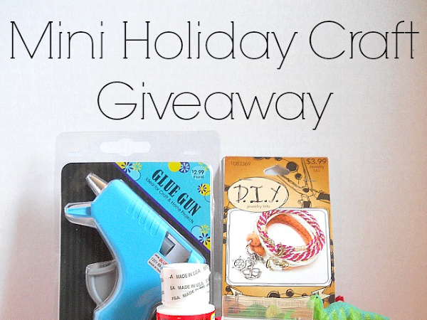 Mini Holiday Craft Giveaway