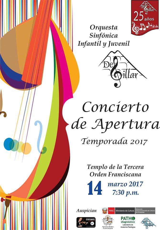 Concierto de Apertura, Orquesta Sinfónica Infantil y juvenil De Sillar - 14 de marzo