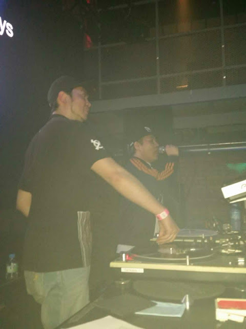 DJ-YASU and M-oto Funky beat @ Sankeys TYO のライブ模様です。