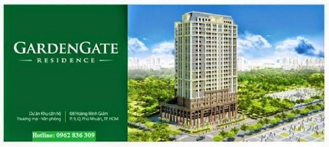 Phối cảnh căn hộ Garden Gate - Skyway Tower
