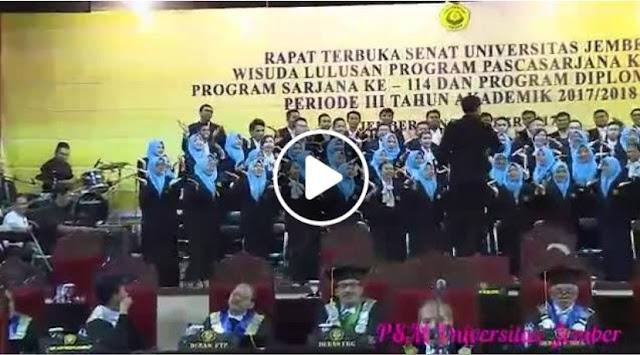 Ironis, Wisuda Zaman Now, Alumnus Dibekali Ajian Jaran Goyang dan Semar Mesem
